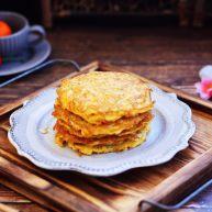 雪虾鸡蛋饼 (宝宝补钙佳品)