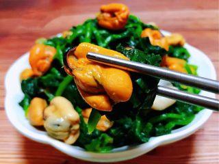 菠菜拌海虹