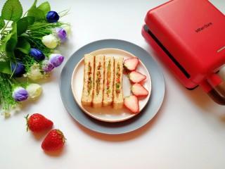 全麦蔬菜三明治,味道超赞!
