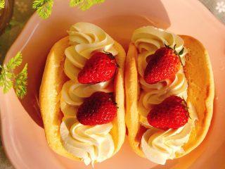 韩国草莓蛋糕