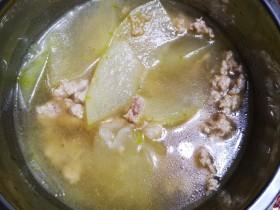 肉末冬瓜汤