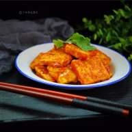 """多福<span style=""""color:red"""">豆腐</span>"""