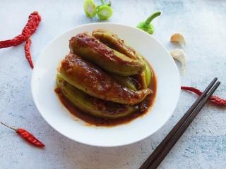虎皮尖椒酿肉