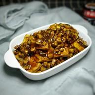 香菇焖豆腐