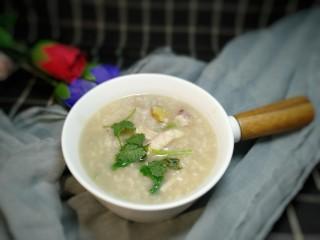牡蛎鱿鱼粥