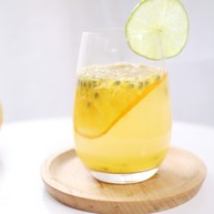 酸甜的味道,如校园般的爱情,橙子百香果饮