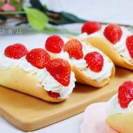 火爆Ins的StrawberryOmelet草莓抱抱卷