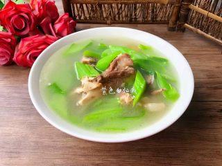筒骨芥菜汤