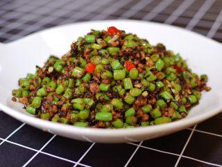 橄榄菜肉末豆角
