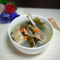海帶鴨子湯