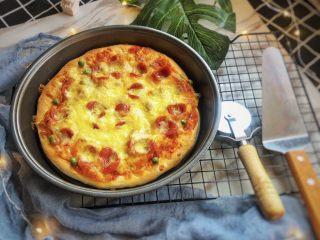 意式烤肠披萨