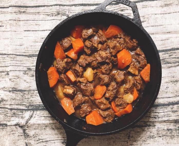 马铃薯炖肉