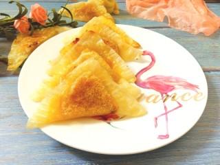 菠萝酱三角包