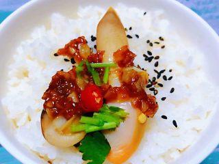 蒜蓉粉丝蒸竹蛏,蒜香微辣的竹蛏子搭配米饭一起吃好吃到爆