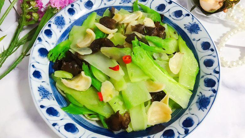 小米椒木耳百合炒儿菜