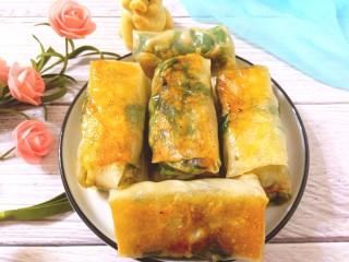 薄皮虾米鸡蛋韭菜盒子