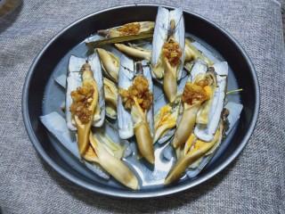 蒜蓉竹节蛏