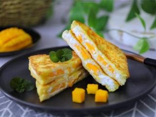 芒果酸奶土司
