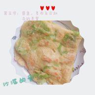 苦瓜鸡蛋饼