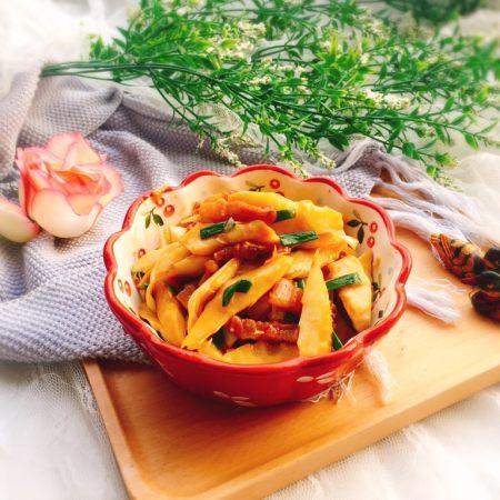 蚝油炒甜笋+春天的味道