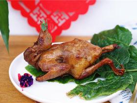 砂锅烤乳鸽
