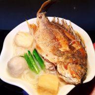 黄翅鱼面线汤