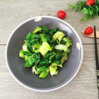 蒜香小油菜