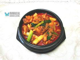 韩式泡菜鸡