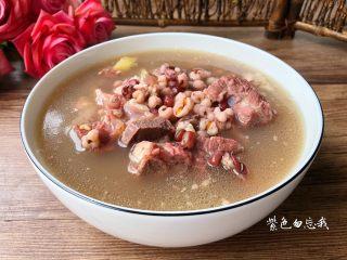 红豆薏米排骨汤