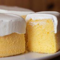 怎么搅拌都不起筋的大米粉戚风蛋糕