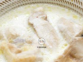 视频|松茸椰浆鸡|牛佤松茸食谱