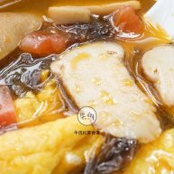 视频|鸡蛋番茄松茸菌汤|牛佤松茸食谱