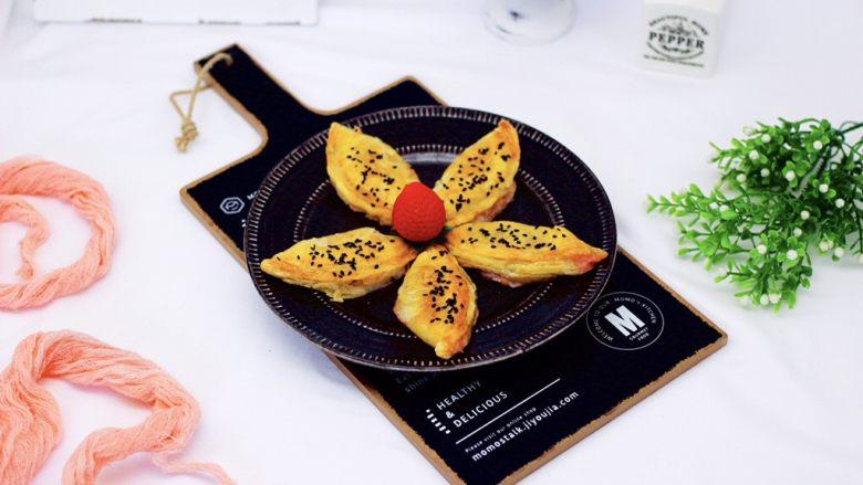 草莓芝士酥~蛋挞皮版