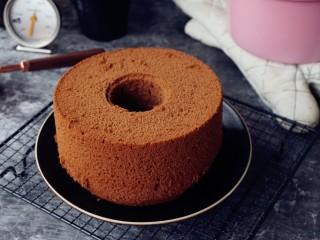 浓郁巧克力戚风蛋糕