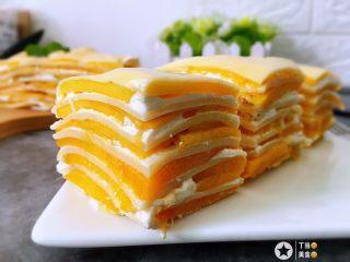 千层芒果蛋糕
