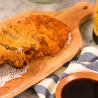地道又美味的上海炸猪排,一点不比鸡排差,在家自己也可以做!