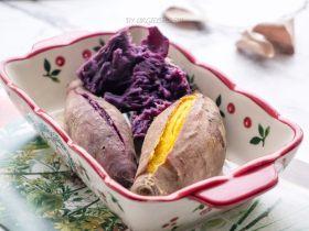 压力电饭锅焗番薯