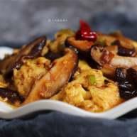 蚝油香菇滑蛋