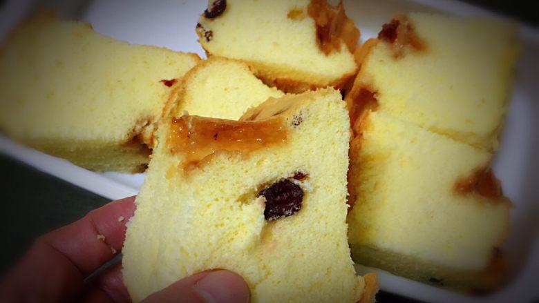 蔓越梅玉枕蛋糕