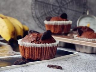 香蕉巧克力马芬蛋糕