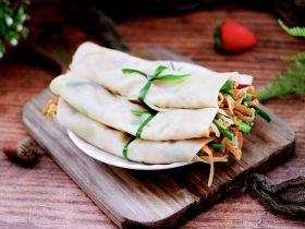 三丝春卷~饺子皮版