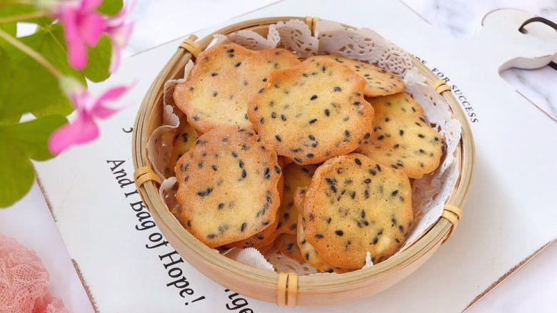 芝麻薄脆饼干