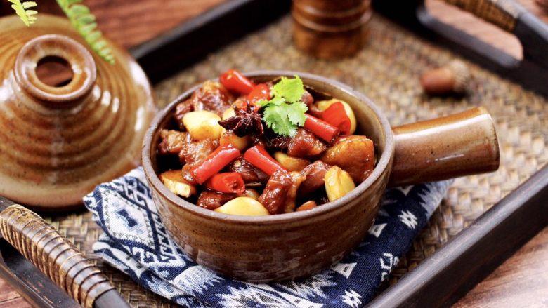 红烧牛肉炖大蒜
