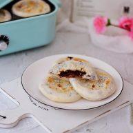 糯米豆沙饼