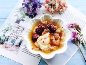 红枣桂圆鸡蛋红糖水+补血益气养颜汤