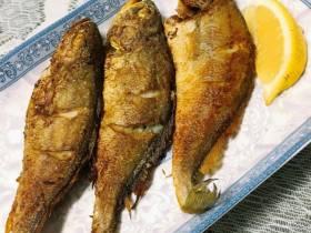 广式干煎黄花鱼