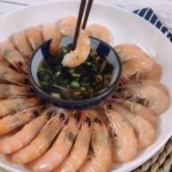 白水煮虾时,用冷水还是热水,很多人做错了,难怪腥味重