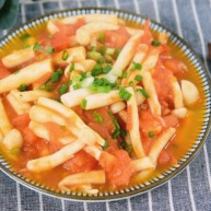 番茄与海鲜菇能碰撞出怎样的火花?美味是必然的,营养更是丰富