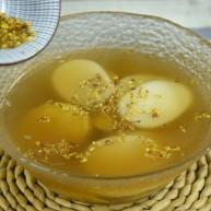 桂花红薯年糕汤