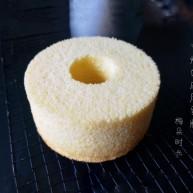 6寸烟囱戚风蛋糕